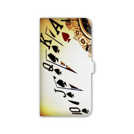 Housse portefeuille cuir Iphone 6  Casino