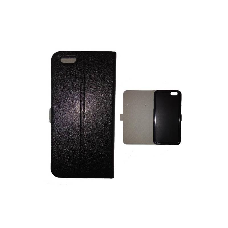 Housse portefeuille cuir iphone 6 plus tete de mort for Housse iphone 6 s plus