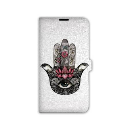 Housse portefeuille cuir Iphone 6 plus + Algerie