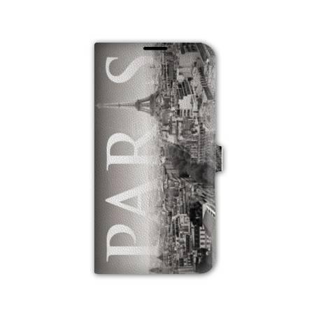Housse portefeuille cuir Iphone 6 plus + France