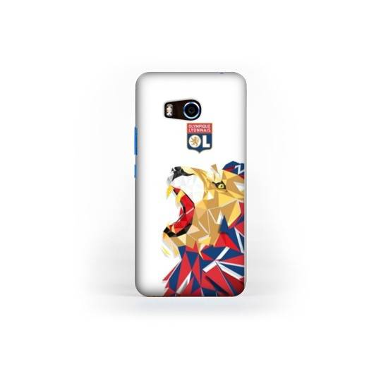 Coque HTC U11 License Olympique Lyonnais OL - lion color