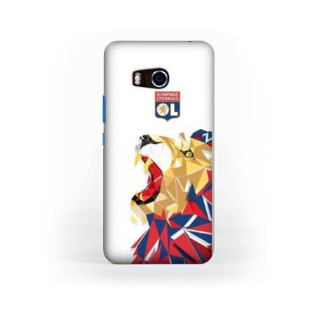 Coque HTC U11 License Olympique Lyonnais OL - lion color