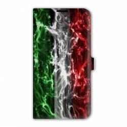 housse cuir portefeuille Iphone 6 plus / 6s plus Italie