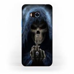 Coque HTC U11 tete de mort
