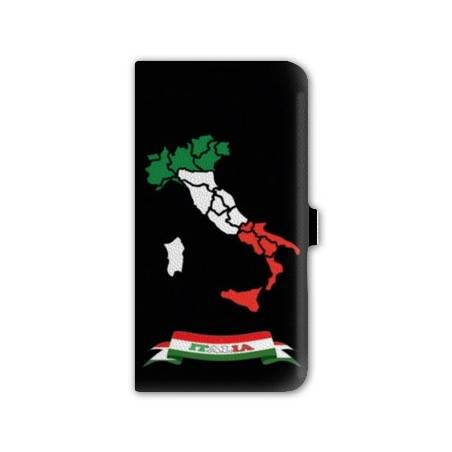 Housse portefeuille cuir Iphone 6 plus + Italie