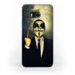 Coque HTC U11 Anonymous