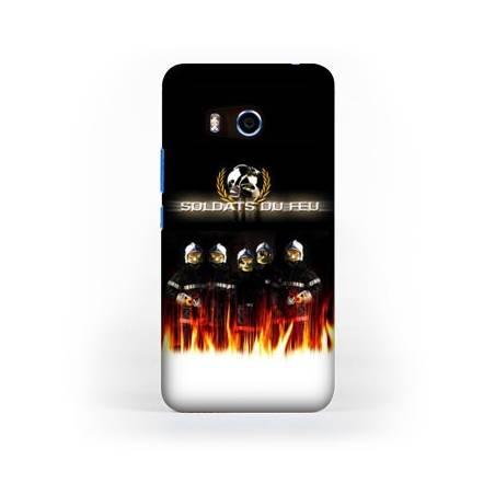 Coque HTC U11 pompier police