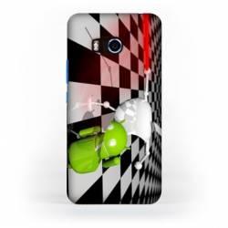 Coque HTC U11 apple vs android