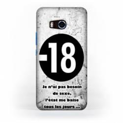 Coque HTC U11 Humour