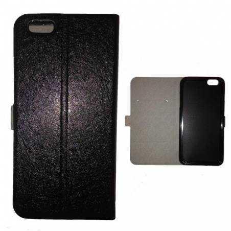 Housse portefeuille cuir Iphone 6 plus + guitare
