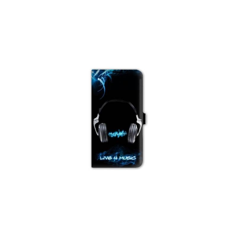 Housse portefeuille cuir iphone 6 plus techno for Housse cuir iphone 6