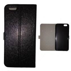 Housse portefeuille cuir Iphone 6 plus + techno