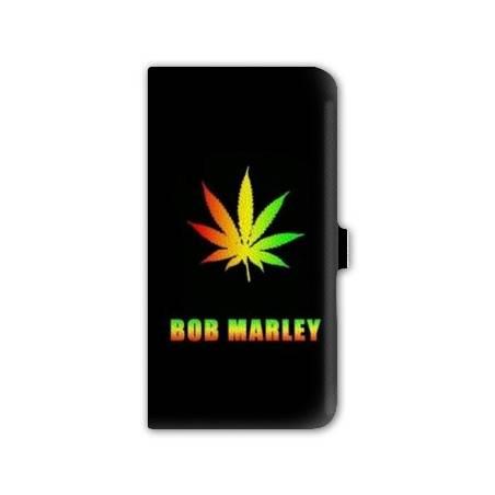 Housse portefeuille cuir Iphone 6 plus + jamaique