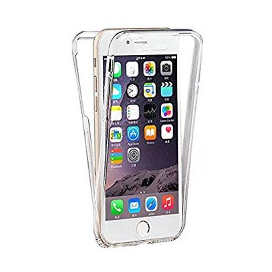 Coque transparente integrale 360 iPhone X / XS personnalisee