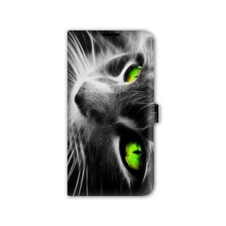 housse cuir portefeuille Iphone 6 plus / 6s plus animaux