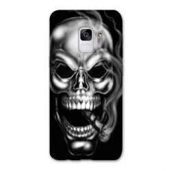 Coque Samsung Galaxy S9 tete de mort