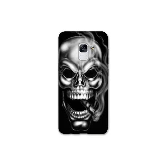 Coque pour Samsung Galaxy S9 tete de mort