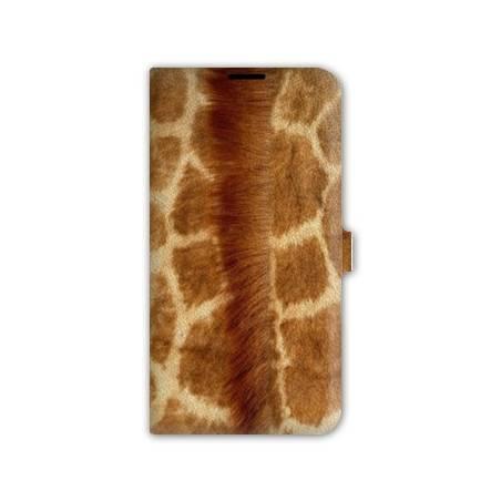 Housse portefeuille cuir Iphone 6 plus + savane
