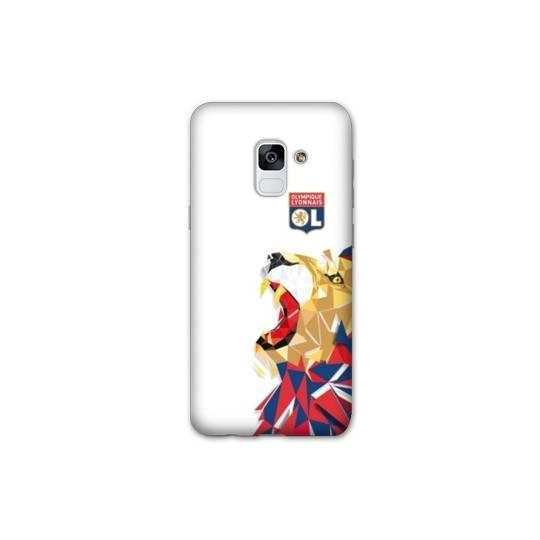 Coque pour Samsung Galaxy S9 License Olympique Lyonnais OL - lion color
