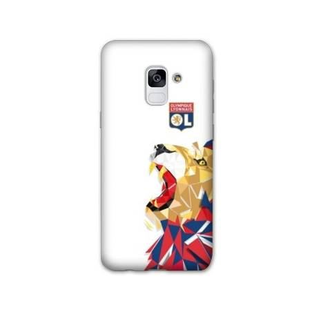 Coque Samsung Galaxy S9 License Olympique Lyonnais OL - lion color