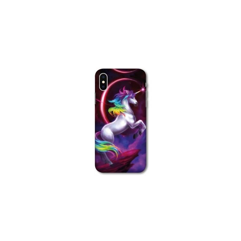 iphone x coque licorne