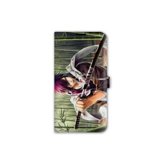 housse cuir portefeuille Iphone 6 plus / 6s plus Manga - divers