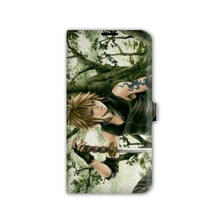 Housse portefeuille cuir Iphone 6 plus + Manga - divers