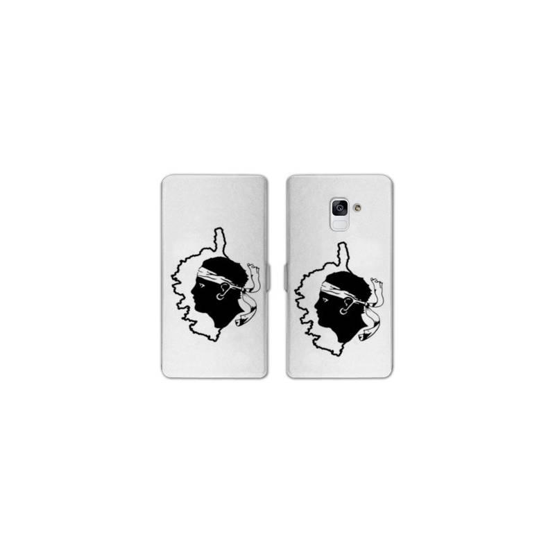 RV Housse cuir portefeuille Samsung Galaxy S9 Corse