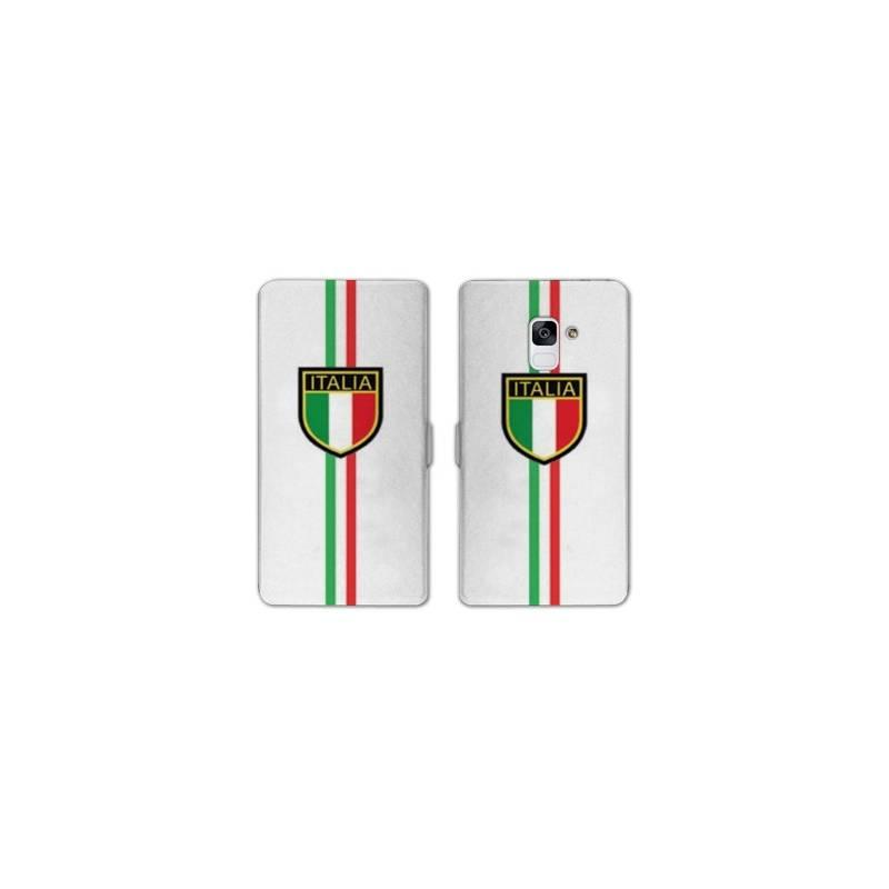 RV Housse cuir portefeuille pour Samsung Galaxy S9 Italie