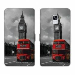 Housse cuir portefeuille Samsung Galaxy S9 Angleterre
