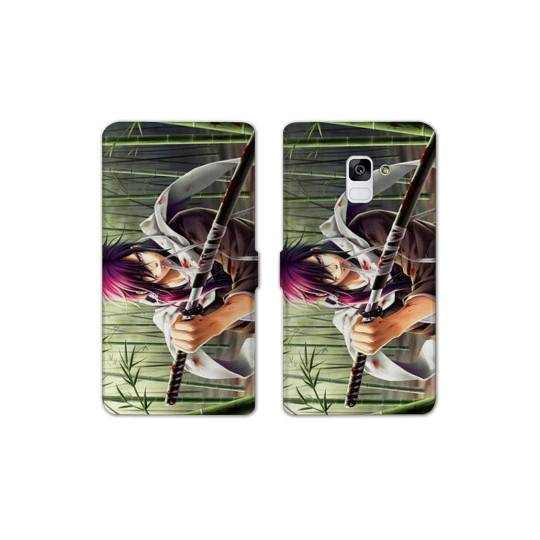 RV Housse cuir portefeuille pour Samsung Galaxy S9 Manga - divers