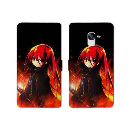 Housse cuir portefeuille Samsung Galaxy S9 Manga - divers
