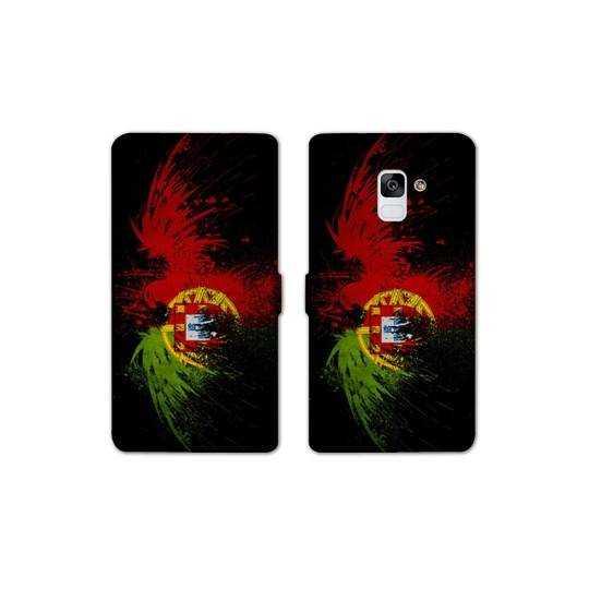 RV Housse cuir portefeuille pour Samsung Galaxy S9 Portugal