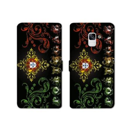 Housse cuir portefeuille Samsung Galaxy S9 Portugal