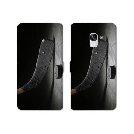 Housse cuir portefeuille Samsung Galaxy S9 Sport Glisse