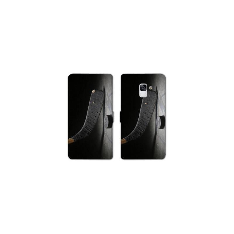 RV Housse cuir portefeuille pour Samsung Galaxy S9 Sport Glisse