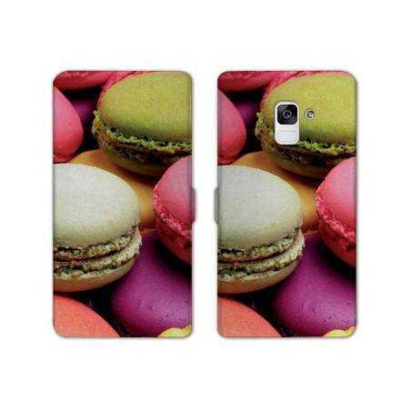Housse cuir portefeuille Samsung Galaxy S9 Gourmandise