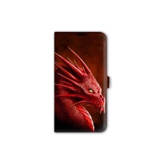 housse cuir portefeuille Iphone 6 plus / 6s plus Fantastique