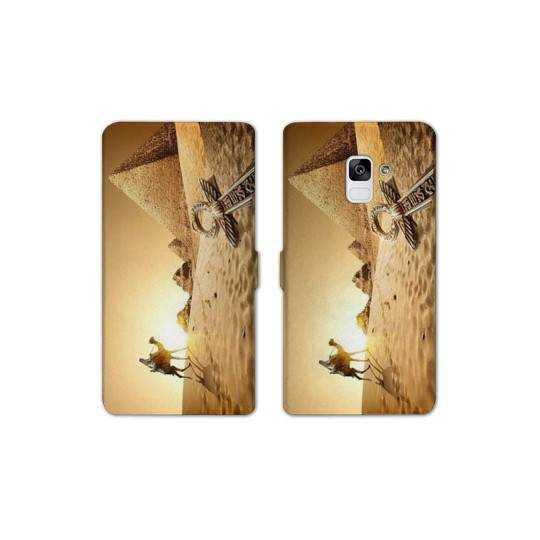 RV Housse cuir portefeuille Samsung Galaxy S9 Egypte