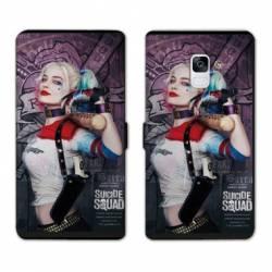Housse cuir portefeuille Samsung Galaxy S9 Harley Quinn