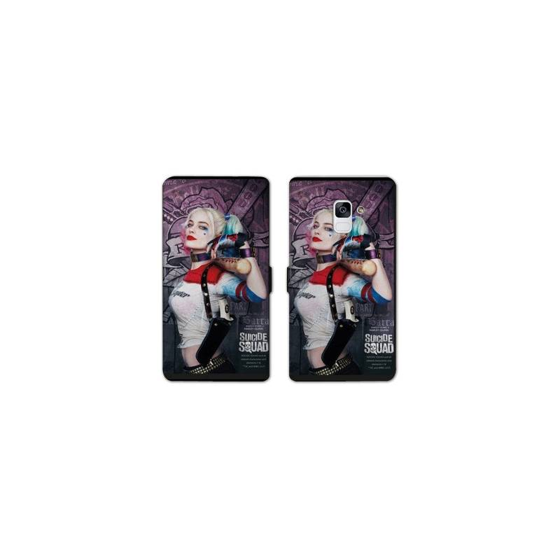RV Housse cuir portefeuille Samsung Galaxy S9 Harley Quinn