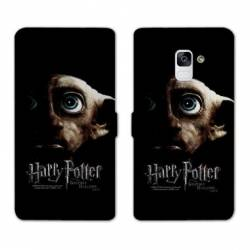 Housse cuir portefeuille Samsung Galaxy S9 WB License harry potter A