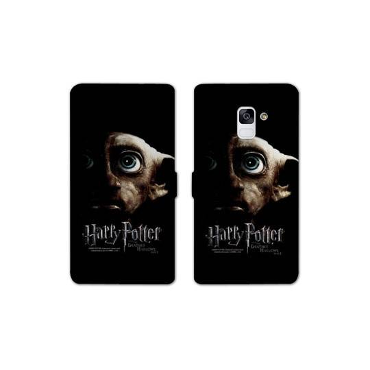 RV Housse cuir portefeuille Samsung Galaxy S9 WB License harry potter A