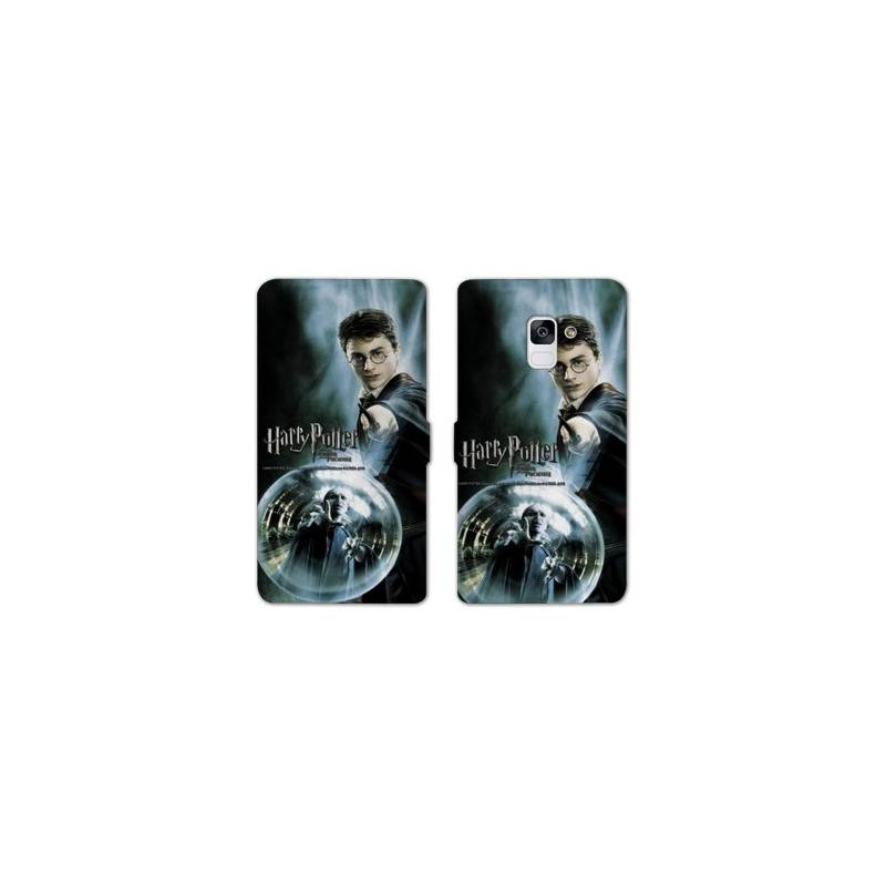 RV Housse cuir portefeuille Samsung Galaxy S9 WB License harry potter C