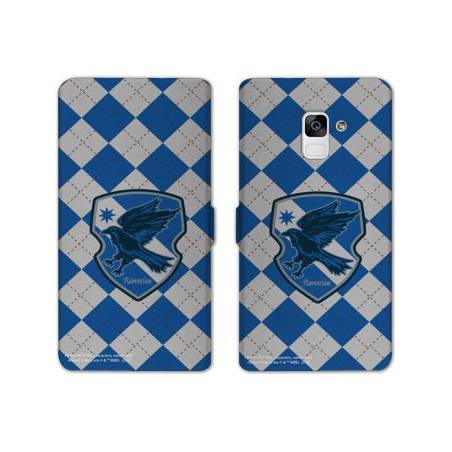 Housse cuir portefeuille Samsung Galaxy S9 WB License harry potter ecole