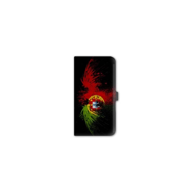 housse cuir portefeuille Iphone 6 plus / 6s plus Portugal