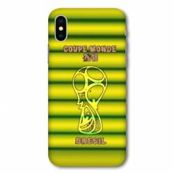Coque Iphone X coupe monde football 2018