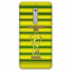 Coque Nokia 5 - N5 coupe monde football 2018