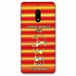 Coque Nokia 6 - N6 coupe monde football 2018