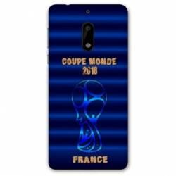 Coque Nokia 6 - N6 coupe monde football 2018